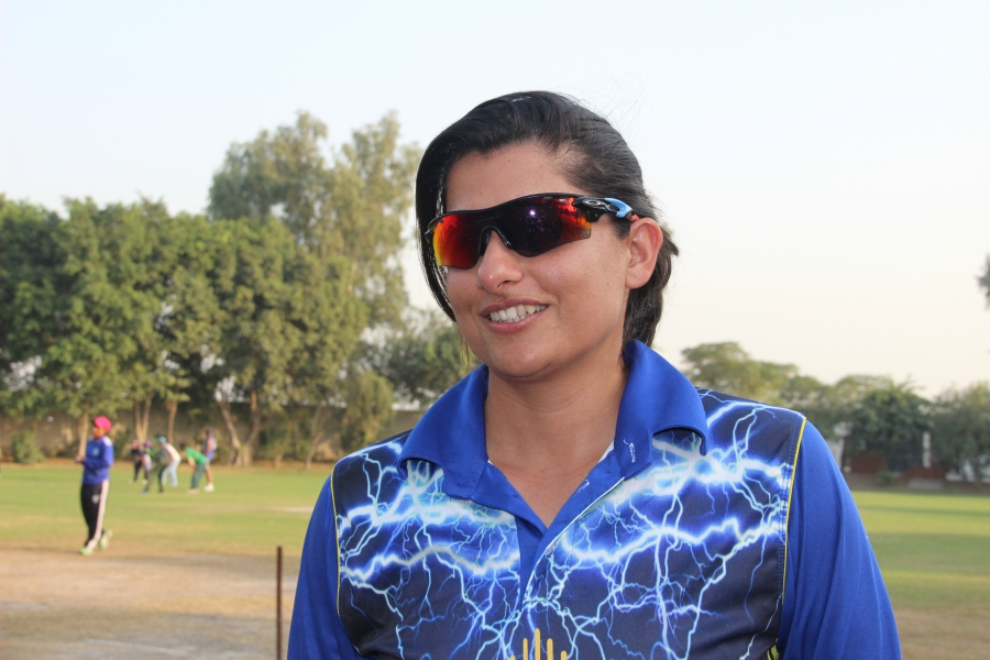 Sana Mir is a star cricket player in Pakistan.